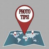 Примечание сочинительства показывая подсказки фото Предложения фото дела showcasing для того чтобы прислушаться хорошие изображен иллюстрация штока