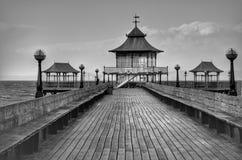 Пристань Clevedon викторианская стоковое фото