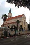 Приходская церковь Святого Антония католическая в Яффе, Тель-Авив, Израиле стоковое изображение rf