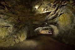 Просторные пещеры Ruskeala стоковые фотографии rf