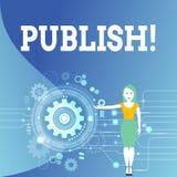 Показ примечания сочинительства опубликовывает Showcasing фото дела делает доступную информацию к показывать вопросу написанный п бесплатная иллюстрация