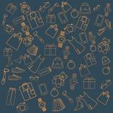 Полное разнообразие предпосылки продуктов стоковая фотография