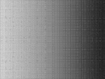 Полутоновое изображение предпосылки искусства попа ставит точки черно-белый цвет dotted вектор иллюстрация штока