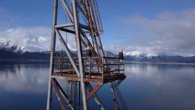 Получившееся отказ промышленное место в доме Аляски к белоголовым орланам