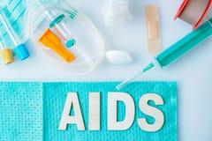 Помощь, концепция ВИЧ Здравоохранение и медицинская концепция стоковая фотография rf