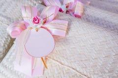 Подарки свадьбы для гостя стоковые изображения rf