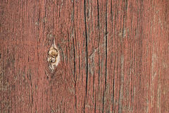 Потрескавшаяся кращеная доска. Old Board with cracked paint on the surface Royalty Free Stock Image