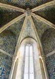 Португальский собор Igreja de Santa Maria Faro Португалии azulejos главный стоковая фотография rf