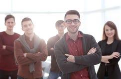 Портрет крупного плана успешной команды дела стоковое фото rf