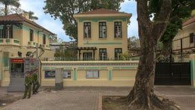 Посольство чехии, Ханой, Вьетнам стоковые фотографии rf