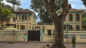 Посольство чехии, Ханой, Вьетнам стоковая фотография