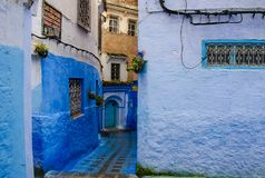 🇲🇦Chefchaouen,Chaouen,Morocco🇲🇦 Blue everywhere💙 royalty free stock photography