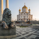 "МР Ñ do 'Ð¸Ñ  Ð°Ñ ¿ Ð ¡ Ра 'Ñ  Ð¥Ñ€Ð¸Ñ ¼ ХраРа ² кР Ñ ¾ Ð?Ð de""/cidade de Moscou a catedral de Cristo o salvador Foto de Stock Royalty Free"