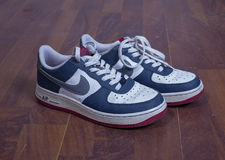 КрÐ-¾ Ñ  Ñ  Ð ¾ Ð ² ки Nike Air Force One Stockfotografie