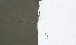Оn ο τοίχος της εφαρμοσμένης πλαστικό επικονίασης αφρού Στοκ Φωτογραφία