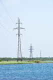 Еlectric line Royalty Free Stock Photos