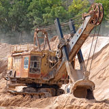 �xcavator Royalty Free Stock Image