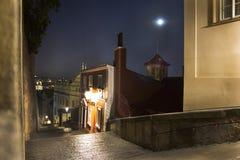 Ð  avorite schodki w Praga, republika czech zdjęcia stock