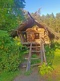 Ð- Hütte auf Hühnerbeinen Lizenzfreies Stockfoto