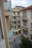 Ð  nother ulicy - pejzażu miejskiego Istanbuł prawdziwy stary budynek Obraz Royalty Free