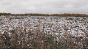 Ð ¡ ity垃圾堆,环境污染由于缺乏回收技术 股票视频