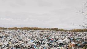 Ð ¡ ity śmieciarski usyp, zanieczyszczenie środowiska należny brak przetwarzać technologię zdjęcie wideo