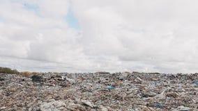 Ð ¡ ity śmieciarski usyp, zanieczyszczenie środowiska należny brak przetwarzać technologię zbiory wideo