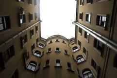 Ð-¡ ourtyard, St Petersburg Stockbild