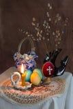 Ð ¹ Ñа, huevos del ½ ÑÐ? ÑÐ de ÑÐ del ¿Ð°ÑÑаÐ? de Pascua Imagen de archivo libre de regalías