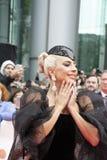 """Дама Gaga на премьере """"звезды принесенное """"нося Armani Privéat на международном кинофестивале Торонто стоковые фото"""