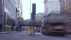 движение london сток-видео