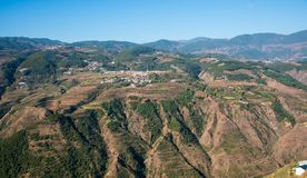 Деревня Китая стоковое изображение