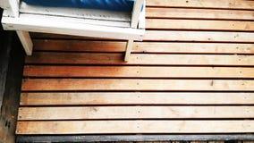 Деревянные доски пригвозженные как настил стоковые изображения rf