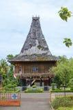 """Джакарта, Индонезия, парк Taman мини - """"красивая Индонезия в миниатюре """" Музей Тимор Timur стоковые фотографии rf"""