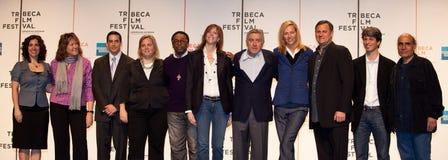 Джон Hayes, Спайк Ли, Джейн Rosenthal, Robert De Niro, Uma Thurman стоковая фотография