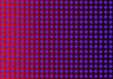 Диаманты конспекта безшовные голубые в красной предпосылке иллюстрация штока