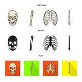 Дизайн вектора значка медицины и клиники Установите медицины и медицинского значка вектора для запаса бесплатная иллюстрация