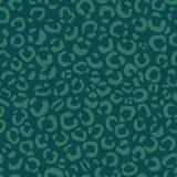 Дизайн картины пинты леопарда вектора, безшовная картина бесплатная иллюстрация