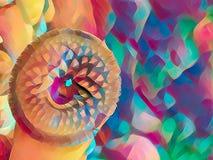 Дизайн мозаики красочный стоковые фото