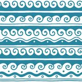 Vector Greek wave and meander decorative elements set. Traditional seamless vintage elements with greek patterns, meander. Seamless border vector ornament stock photo