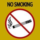 Для некурящих опасность знака, вектор табака - eps 8 иллюстрация вектора