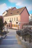 Ð ` ÐΜÐ' Ð°Ñ€ÑƒÑ  ÑŒ, Białoruś, Minsk: Troitsk przedmieście zdjęcia royalty free