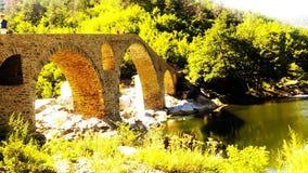 Дяволският мост in sun stock image
