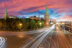 ¼ Д ÑŒ de а КреРdo ² do  кРdo ¾ Ñ de ÐœÐ/cidade kremlin de Moscou Imagem de Stock Royalty Free