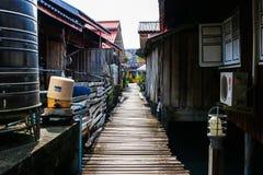 Древесина улицы на острове стоковое изображение rf