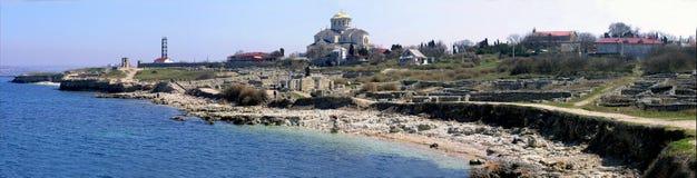 Древний город Chersonese стоковое изображение rf
