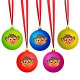 Ð ¡ οι σφαίρες Χριστουγέννων Στοκ φωτογραφία με δικαίωμα ελεύθερης χρήσης