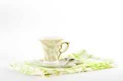 ¡ Ð вверх кофе на диске Стоковые Изображения RF