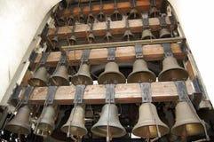 Ð ¡ alling kościelnych dzwony obraz stock