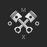 Ð ¡ AR ή πρότυπο λογότυπων εργαστηρίων ποδηλάτων Στοκ Εικόνες